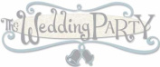 Jolee's Boutique Title Wave Stickers-The Wedding Party