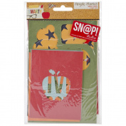 Simple Stories Smarty Pants Snap Cuts Die Cut Cards