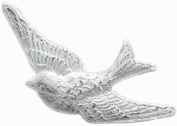Melissa Frances Resin Embellishments, Soaring High Bird, 3.2cm by 6.4cm