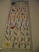 Colorbok Nature's Garden Watercolour Alphabets Sticker