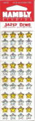 Gold and Silver Stars Epoxy Jazzy Gems Scrapbook Stickers