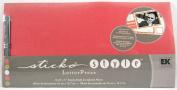 EK Success Sticko Style Letter Press Ready Made Scrapbook Album Aurora Flora Colour/Style
