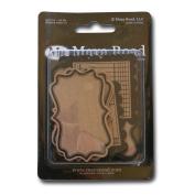 Maya Road Kraft Journaling Tags, Decorative