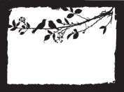 Mask Design Template-Branch 18cm x 23cm