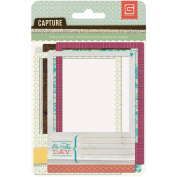 Basic Grey Capture Folding Photo Frame Embellishments