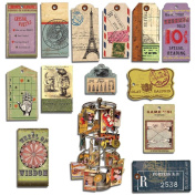 Artist Trading Card Tags 13/Pkg-Gypsy