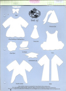 Accucut Jill's Paper Doll Template - Dress Up