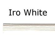 WHITE GLOSSY MIZUHIKI - Package of 5 strands