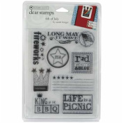 Clear Stamps Sande Krieger - 4th Of July