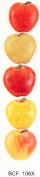 APPLES - Flat backed ceramic - Pack of 5