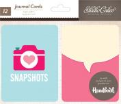 Studio Calico Printshop Die Cut Journal Card Scrapbook Embellishments