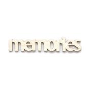"Fancy Pants Artist Edition ""Memories"" Wooden Phrase Embellishments"