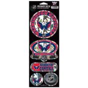 Washington Capitals Prismatic Stickers