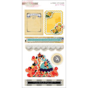 Glitz Design - Yours Truly Collection - Layered Stickers