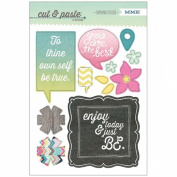 Cut & Paste Adorbs Chipboard Stickers-Be