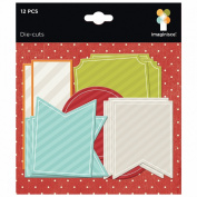 Bushels O' Fall Cardstock Die-Cuts 12/Pkg-Journaling