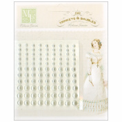 Pearls Embellishment-Cream