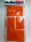 Stuffed Ups Adhesive Envelopes Orange