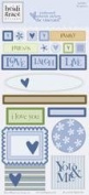 Heidi Grace Designs Embossed Shapes Cardstock Stickers - Vineyard