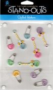 Nursery Stand-Outs Quilled Scrapbook Stickers