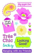 Tres Chic Rub-ons for Scrapbooking
