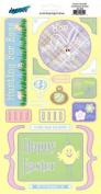 Easter Doodle Cardstock Scrapbook Stickers