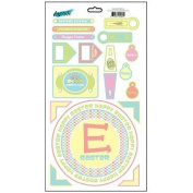 Easter Whimsy Cardstock Scrapbook Stickers