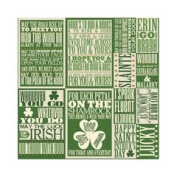 Reminisce ShamROCK 12x12 Poster Sticker
