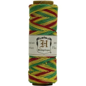 Hemp Cord Spool Variegated 10# 205 Feet/Pkg-Rasta