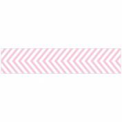 "Designer Paper Tape 19mm X 9m (.75"" X 30')-Cotton Candy Chevron"