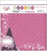 Xmas Super Value Paper Pack 30cm x 30cm 12 Sheets-Candy Cane