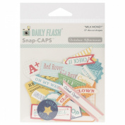 Daily Flash Milk Money Cardstock Die-Cuts-Flash Blurbs