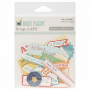 Daily Flash Milk Money Cardstock Die-Cuts-Flash Blurbs