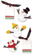 Westrim Paper Bliss Embellishments - Fun Snowmen
