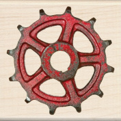 Inkadinkado Wood Stamp, Gear