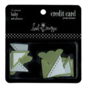 Heidi Swapp Self-Adhesive Credit Card Embellishments