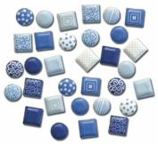 Blue Mini Brads