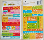 Summer Fun Stickers by American Greetings