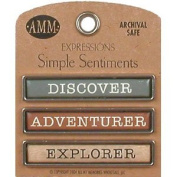 Simple Sentiments - Discover/Adventurer/Explorer