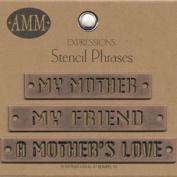 Metal Stencils - Mother