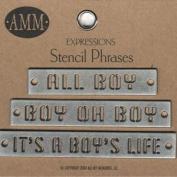 Metal Stencils - Boy