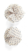 Jolee's Boutique Dimensional Stickers, Light Pink with Blue Polka Dots Flowers