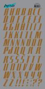 Moxxie - Rub Ons - Alphabet - Brown