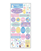 Hoppity Easter Scrapbook Stickers