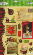 Vintage Christmas Cardstock Scrapbook Stickers
