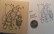 Lightning bug rubber stamp WM P21