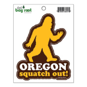 Oregon Squatch Out! Sticker