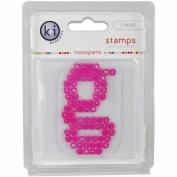 KI Memories Pop Culture Monogram Clear Stamps