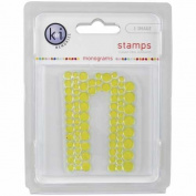 KI Memories Pop Culture Monogram Clear Stamps