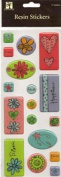 Stemma Resin Stickers - Doodle Icons
